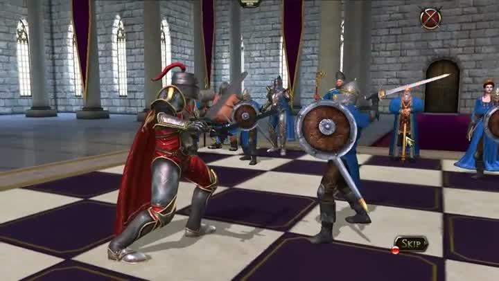 Gameplay Battle Chess Chevalier Vs Pion