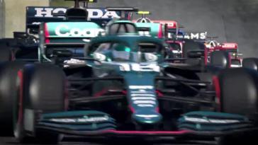 F1 2021 présente ses fonctionnalités à toute vitesse
