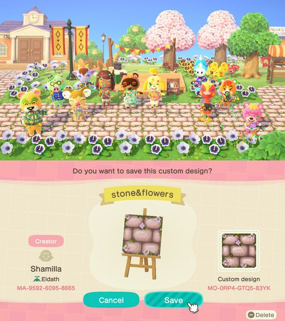 Animal Crossing New Horizons Road And Aisle Patterns To Ask The