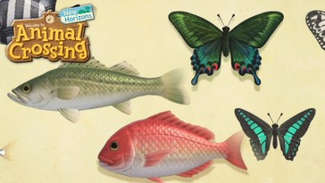 Animal Crossing New Horizons, bébêtes de juin : quelles espèces vont disparaître en juillet ?