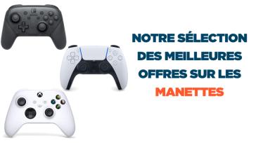 Manettes Gamer, Pad Gaming, Volants : retrouvez notre sélection des meilleures offres