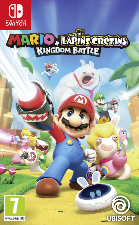 Mario + The Lapins Crétins Kingdom Battle sur Switch