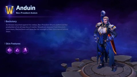 Heroes of the Storm: Anduin Wrynn arrives in the Nexus