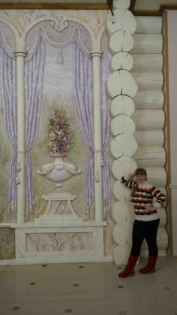 """Барельеф - художественная лепка в ресторане """"Версаль ..."""