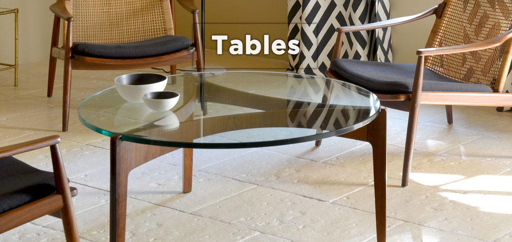 tables basses ou a manger gueridons