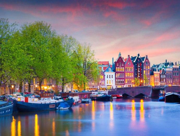 cidades mais românticas da Europa amsterdam