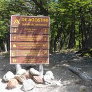 Arrivée au bivouac, le camp De Agostini