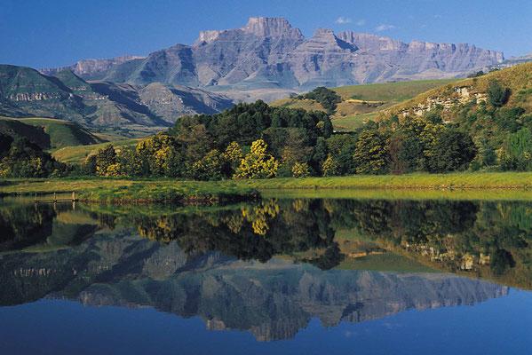 Internationale gruppenreise · deutschsprachige gruppenreise. Drakensberge Sudafrika Reiseportal