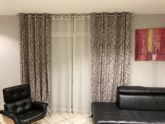 pose rideaux stores interieur