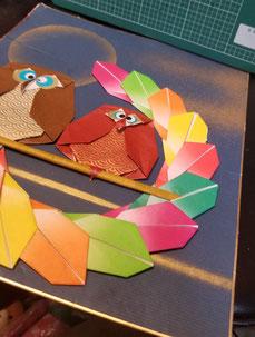 12月の講習作品(予定)「干支 モウモウ花子さん」「門松」「水引の正月飾り」(予定)