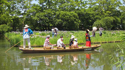 Tafune boat ride at Ukiya no Sato from the official site