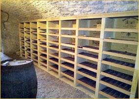 creation de caves a vins a casiers
