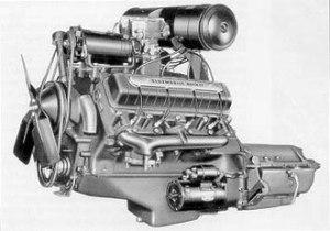 The Rocket Engine History  1957 Oldsmobile Golden Rocket 88