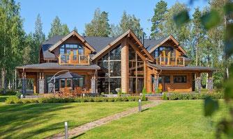 chalet en kit maison en bois