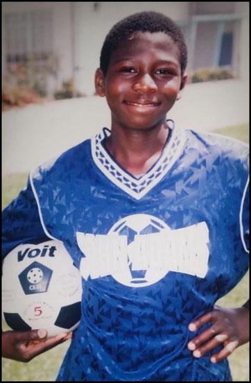 Adeyemi grew up playing soccer, tennis and cricket - Photo courtesy of Al Rilwan Adeyemi