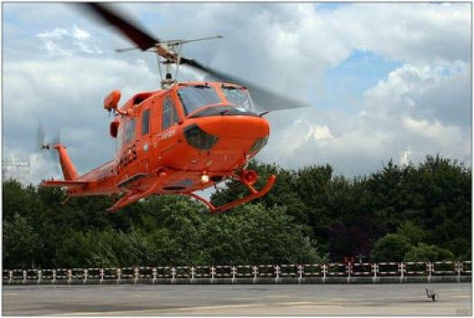 letzter Einsatz mit der Bell 212