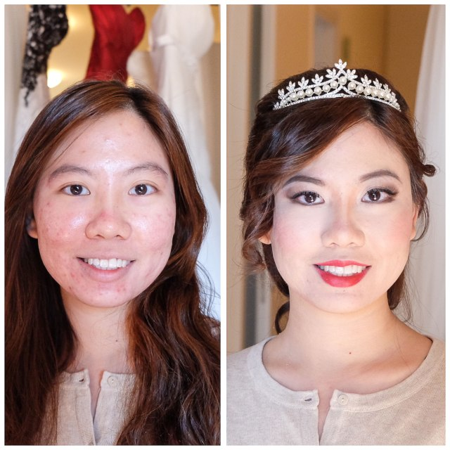 wedding and fashion makeup artist and hairstylist florence