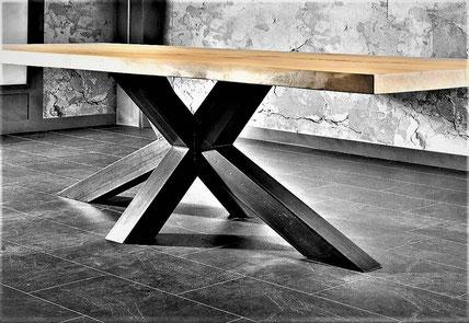 mobilier metal et bois sur mesure