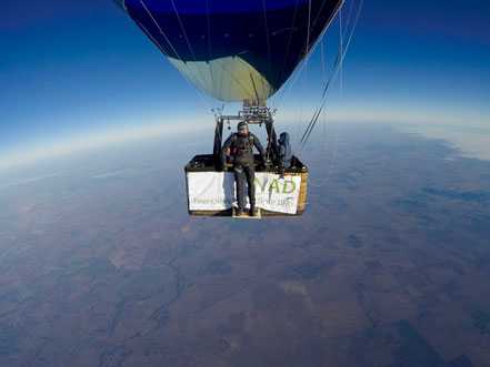 Ready for the world's first human jump into the jetstream