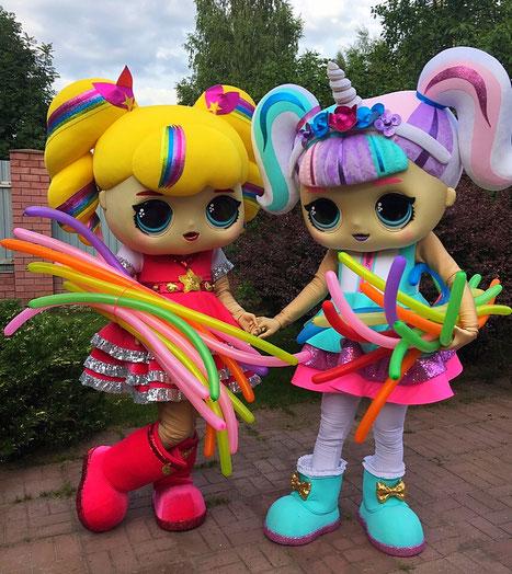 Куклы Лол шоу на детский праздник день рождения ребенка в