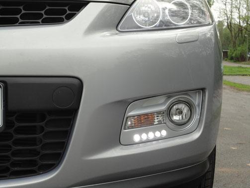 Tagfahrlicht Mazda CX7 rudihobbys JimdoPage