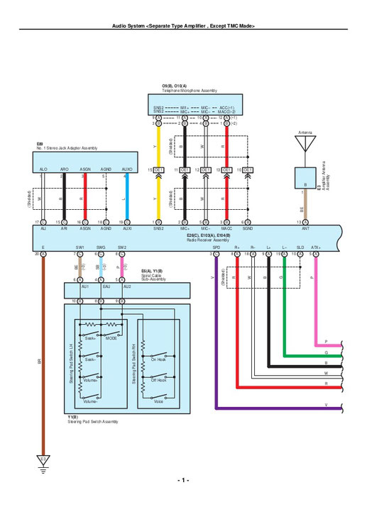 toyota electrical  wiring diagrams