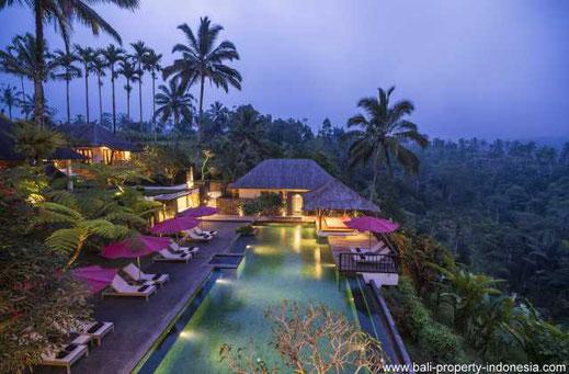 Resort Hotel Commercial Villas Bali Property Indonesia