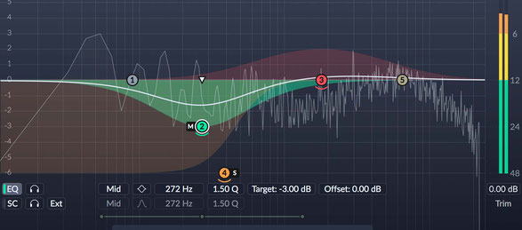 Dyanamic Equalizer and Multiband Compressors for Mastering
