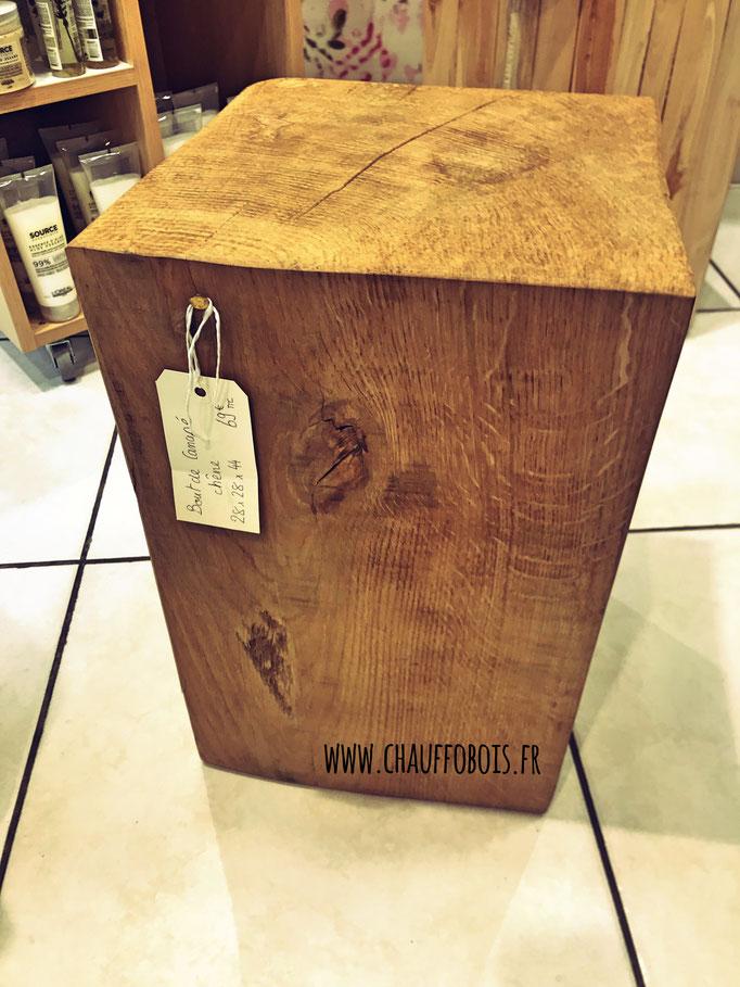 Bout De Canape Cube De Bois Brut Bois De Chauffage 49 Angers Maine Et Loire