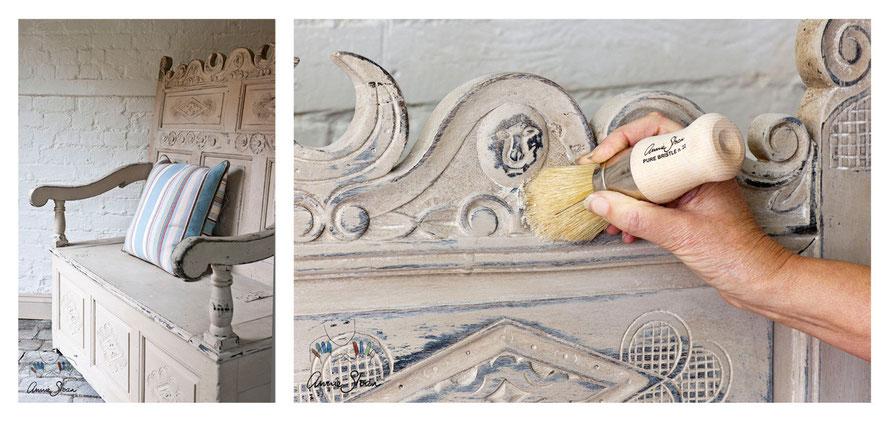 Kreidefarbe - Tipps Möbel streichen - Annie Sloan Chalk ...