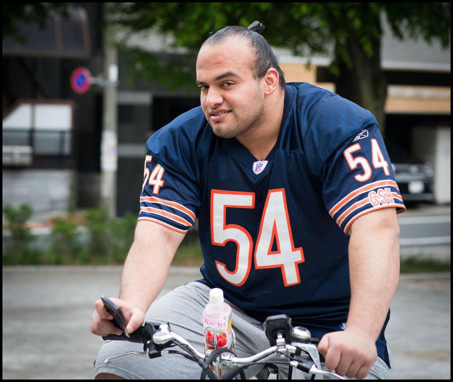 Egyptian rikishi Osunaarashi was the most high profile Muslim athlete in Japan — John Gunning, Inside Sport: Japan, April 29, 2014