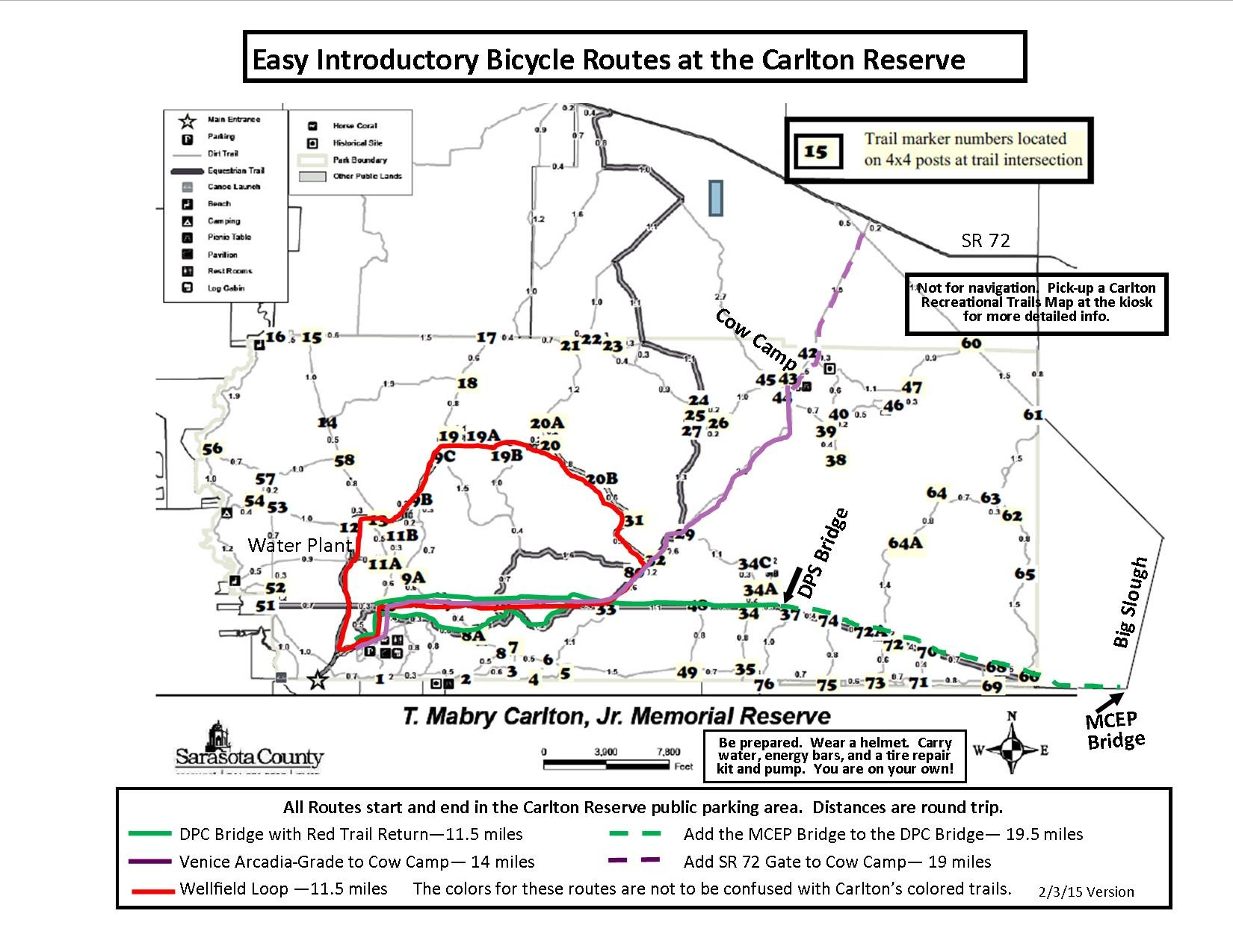 Carlton Introductory Bicycling Loops