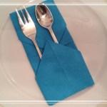Bestecktasche Falten Tischdeko Servietten Falten