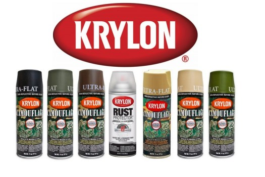 Krylon Spray Paint Nz Rust Protector Fusion Plastic Camo Paints Marker