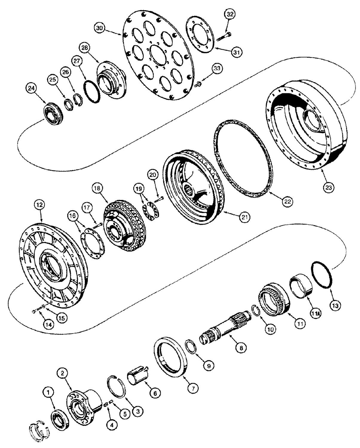 Toyota Torque Converter Diagram