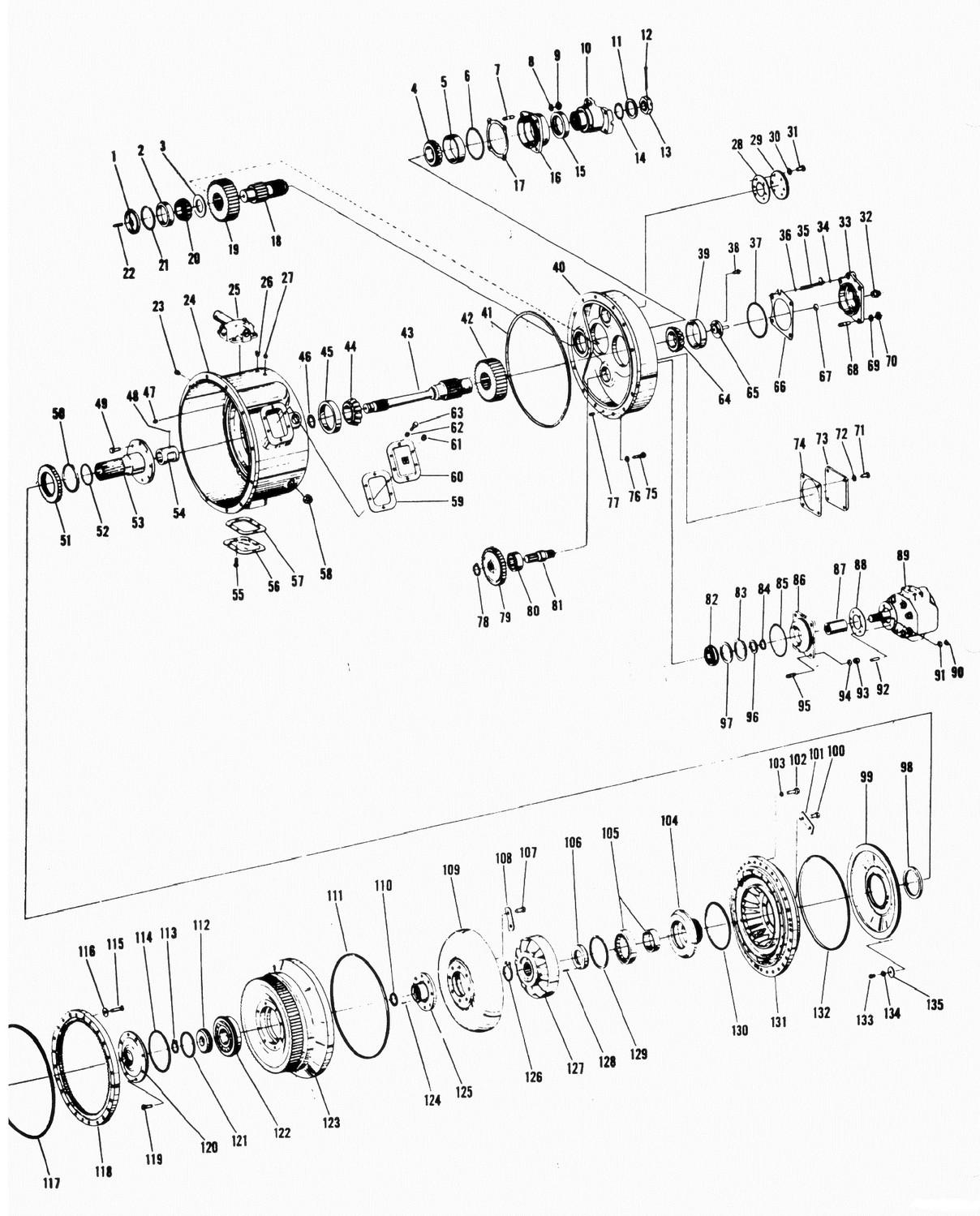 Zetor Parts Diagram