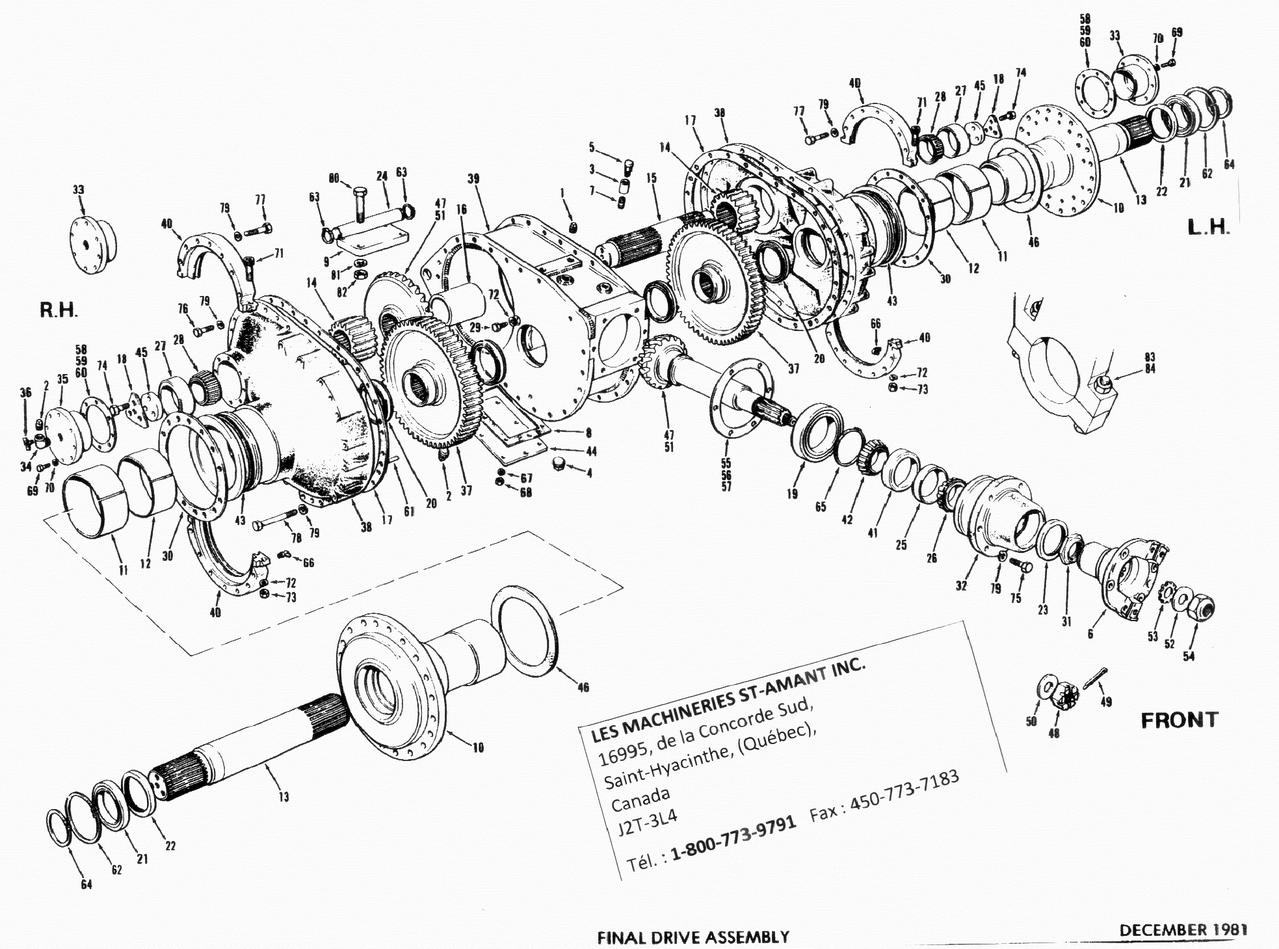 Final Drive Parts