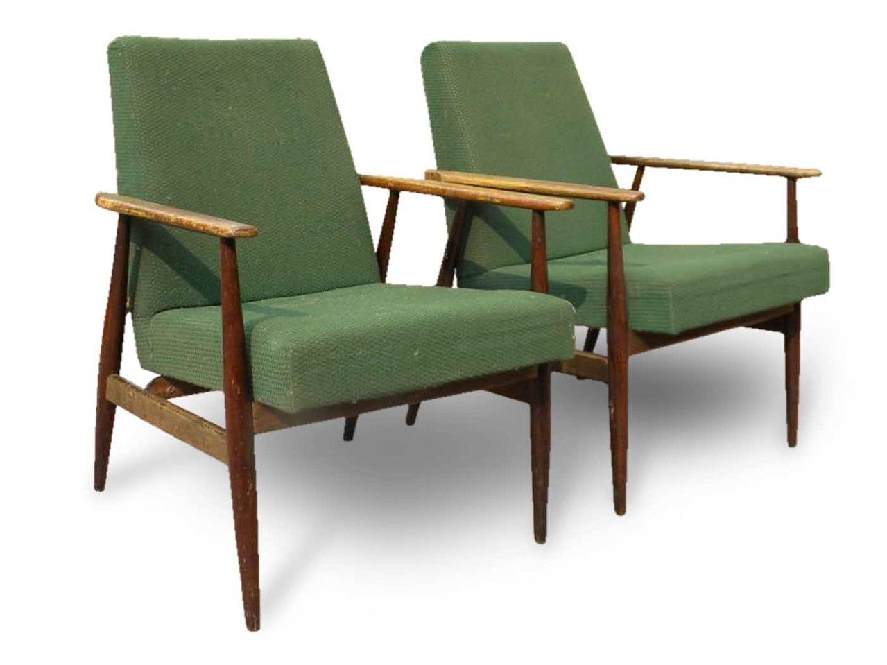 Set 6 sedie con 3 poggiapiedi — negozio calzature anni 60. Poltrone Anni 50 Stile Scandinavo Italian Vintage Sofa