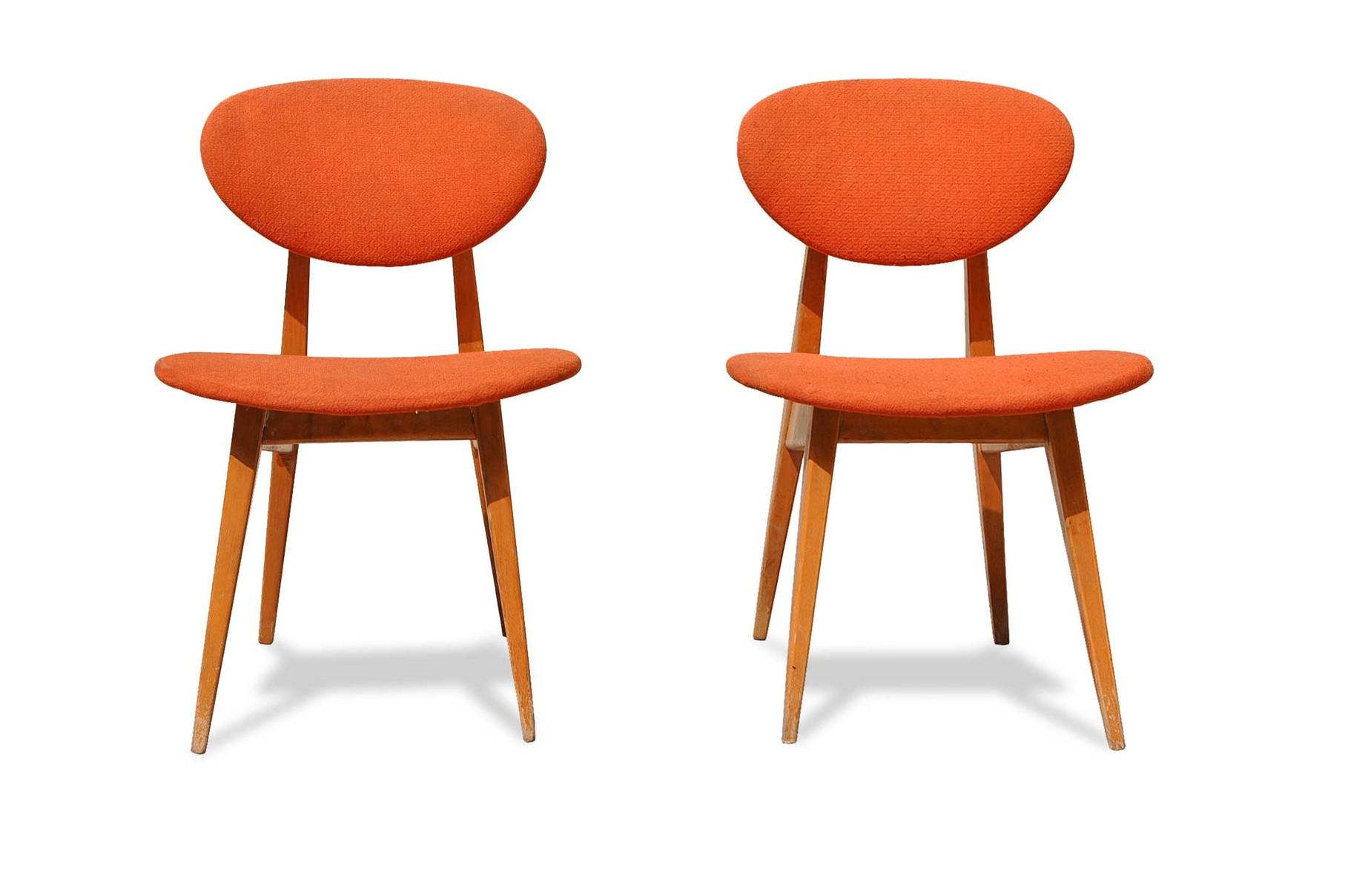 Italia (tutte le città) vendo sei sedie imbottite in pelle pieno fiore come nuove. Sedie Anni 60 Design Scandinavo Italian Vintage Sofa