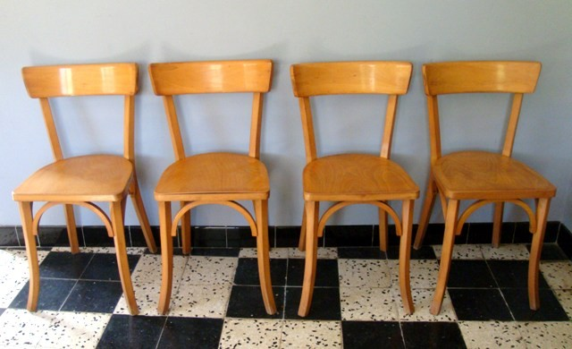 Srie 6 Chaises Baumann MUROS Design Et Vintage En