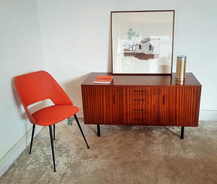buffet tv vintage annees 50 muros