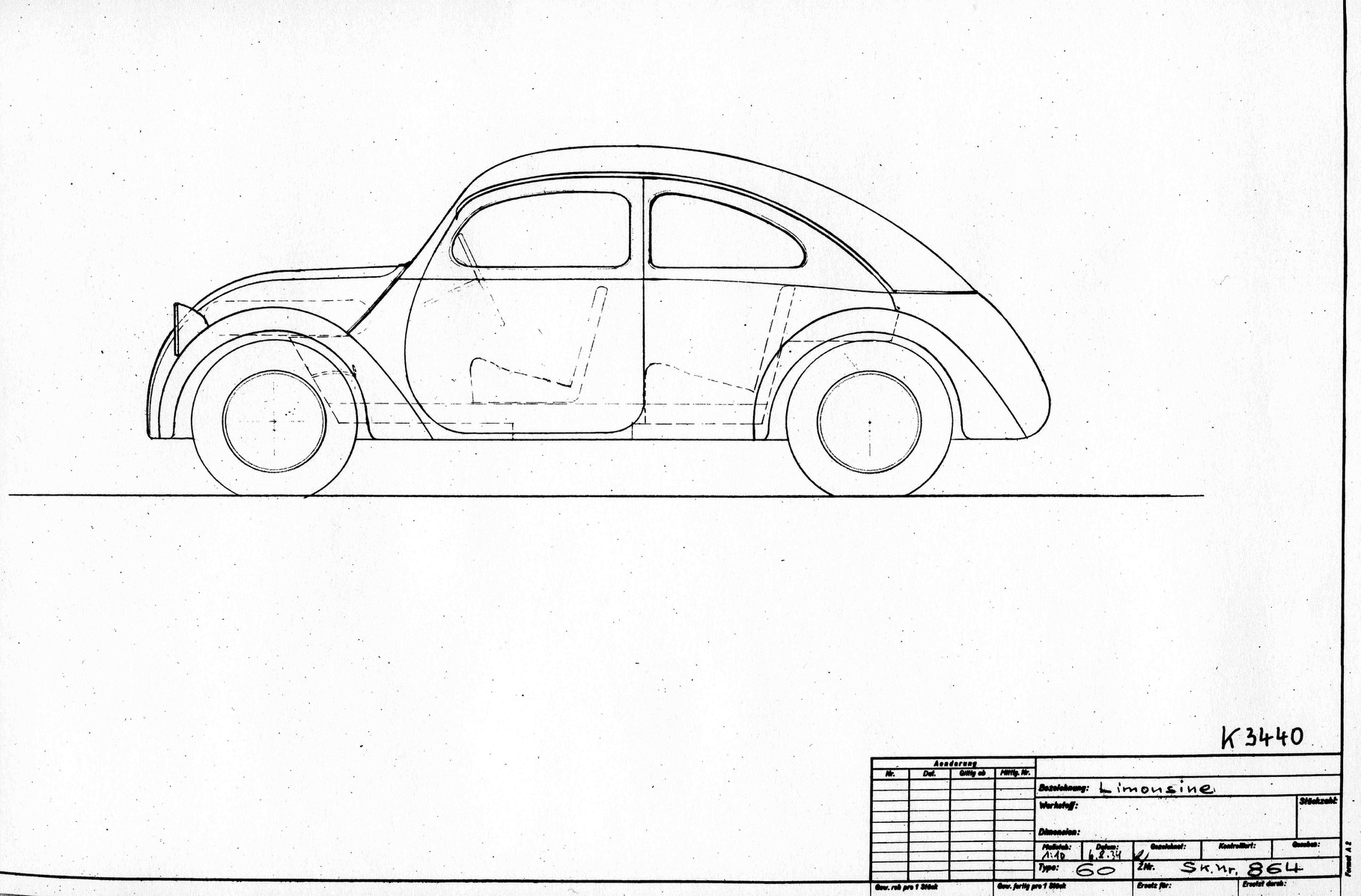 Vw Kafer Volkswagen Beetle