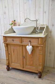 Antike Waschtische - funktionstüchtig aufgearbeitet - Land & Liebe