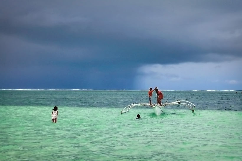 Beautiful in the rain... Siargao, Philippines © Sabrina Iovino | via @Just1WayTicket