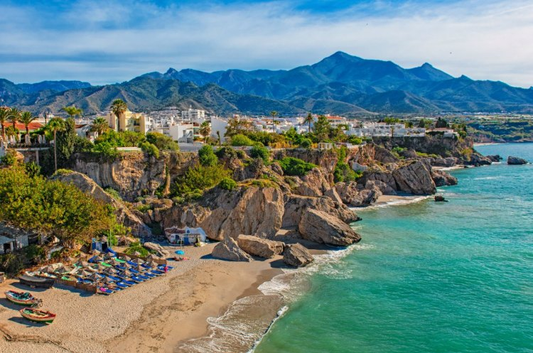 Best beaches in Europe - Nerja Beach - Copyright  Botond Horvath Shutterstock