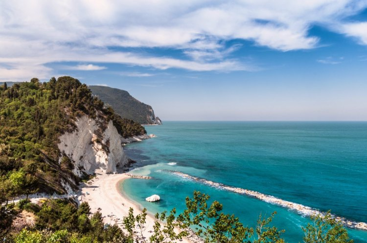 Best beaches in Europe - Numana beach Ancona Copyright  cristian ghisla