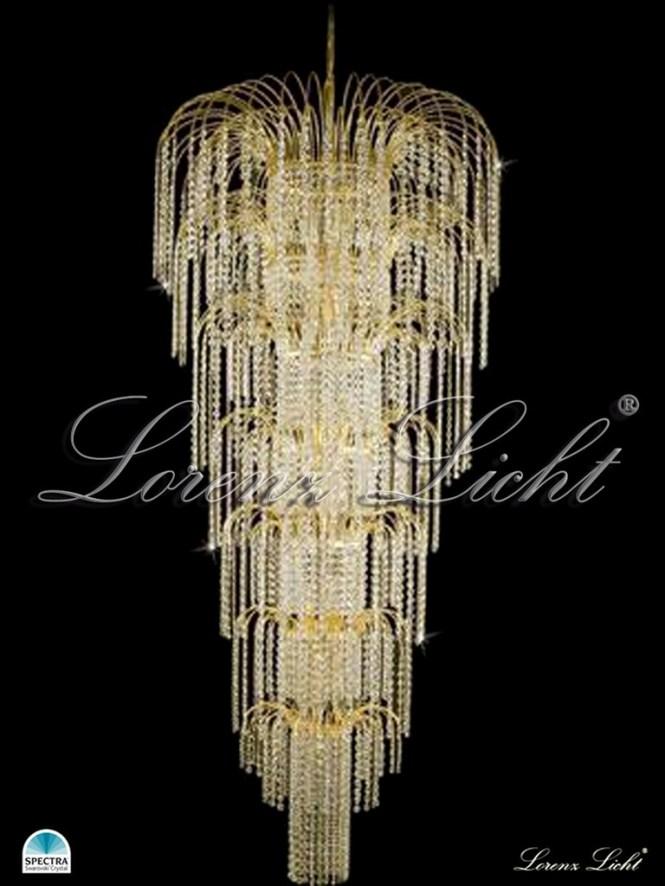 Charlotta 70cm Made With Swarovski Spectra Crystal Lighting Chandelier