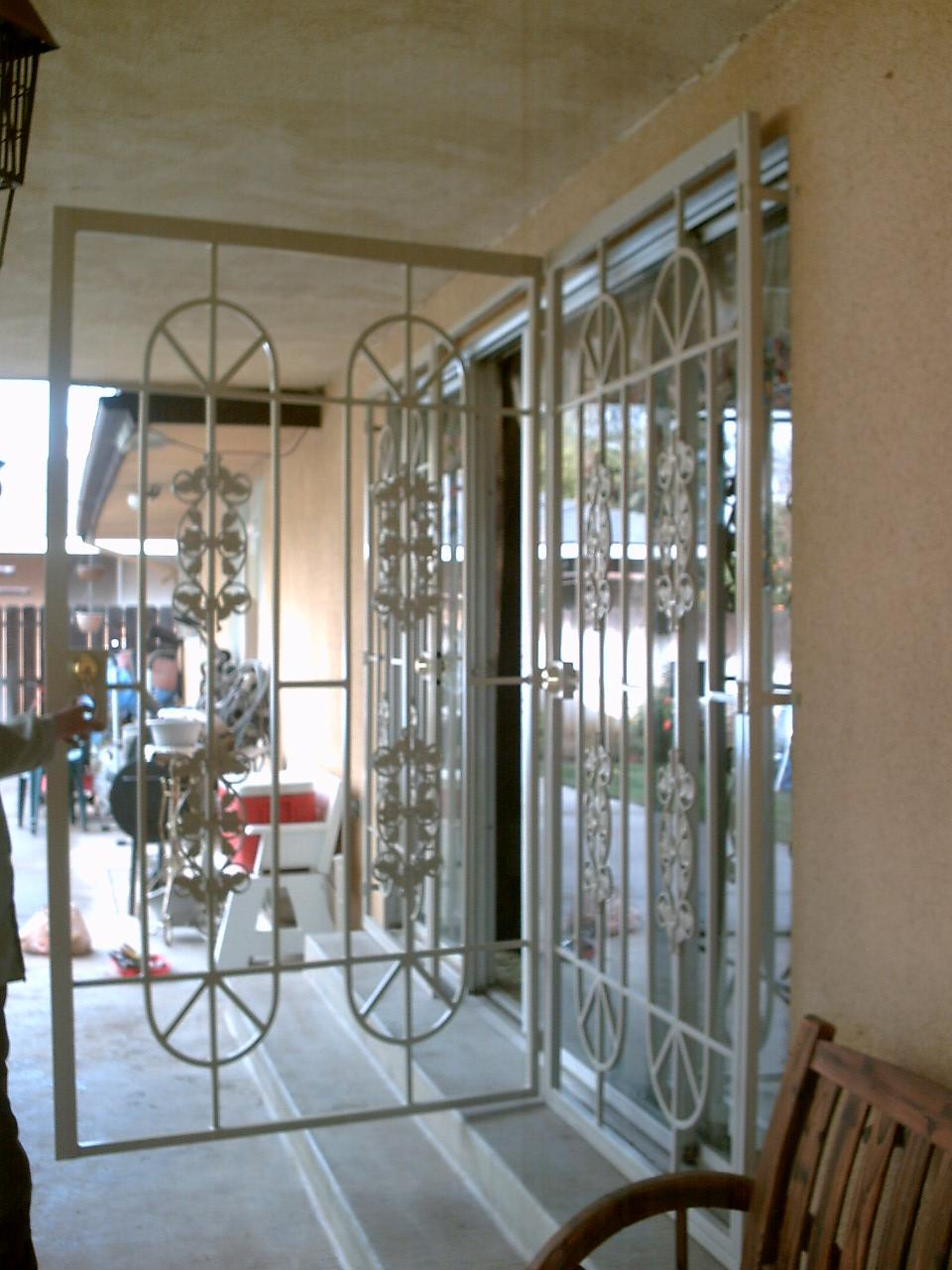 patio doors condoor security wrought