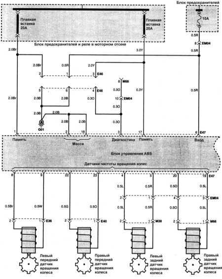 hyundai accent 1996 wiring diagram  wiring diagram series