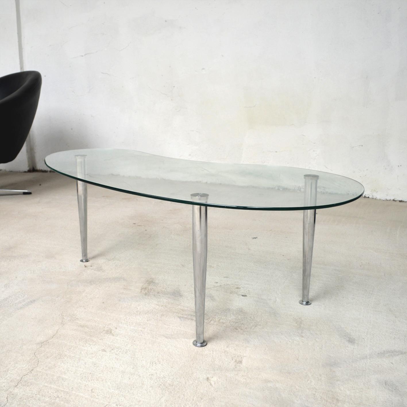 table basse haricot en verre tiangge